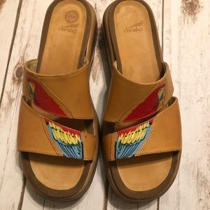 DANSKO parrot two strap sandals size 42 US 12